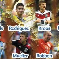 Diez jugadores aspiran a ser el MVP del Mundial 2014