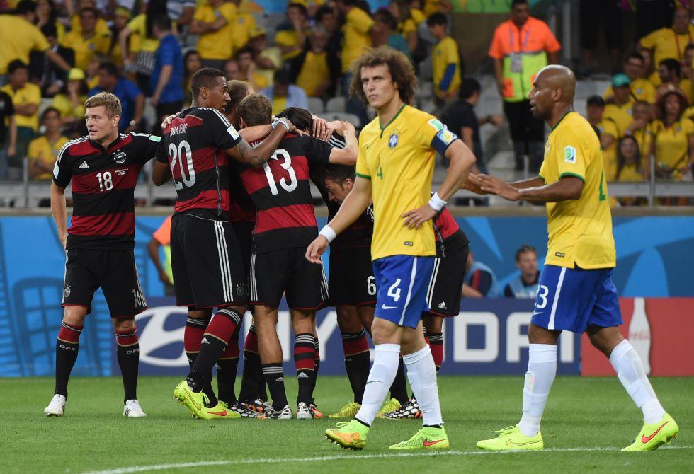 Alemania humilla a Brasil en su propia casa