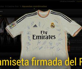 RT si quieres ganar la camiseta firmada por el Madrid