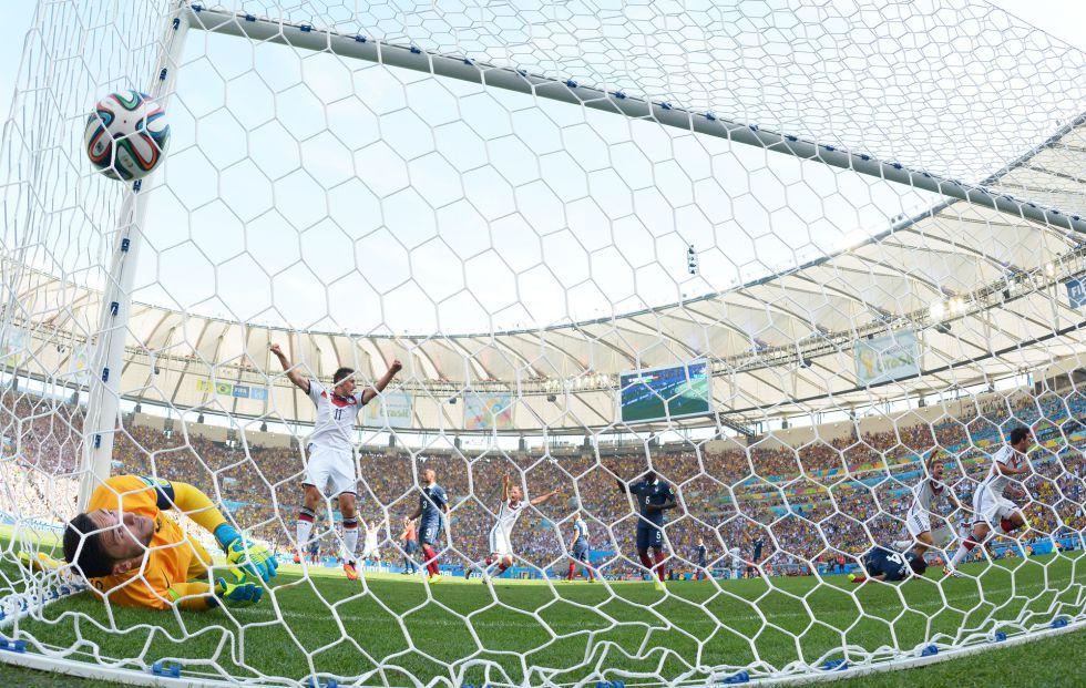 Alemania vence a Francia con lo m?nimo