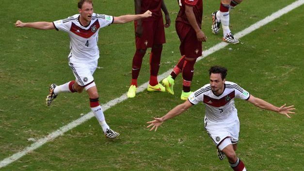 Alemania se lleva por delante a Portugal