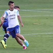 Aguero se recupera y está listo para jugar ante Holanda