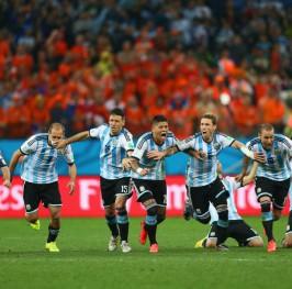 Argentina se mete en la final por penaltis