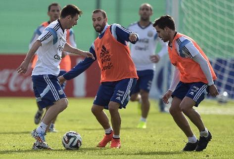 Argentina, en busca de la victoria y la confianza ante Ir