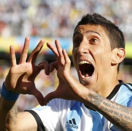 Di María salva a Argentina de la debacle