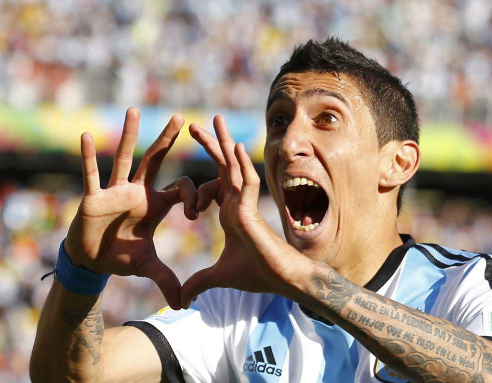 Di Mar?a salva a Argentina de la debacle