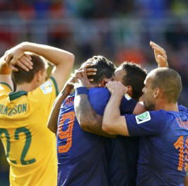 Holanda casi se lleva un susto ante la débil Australia