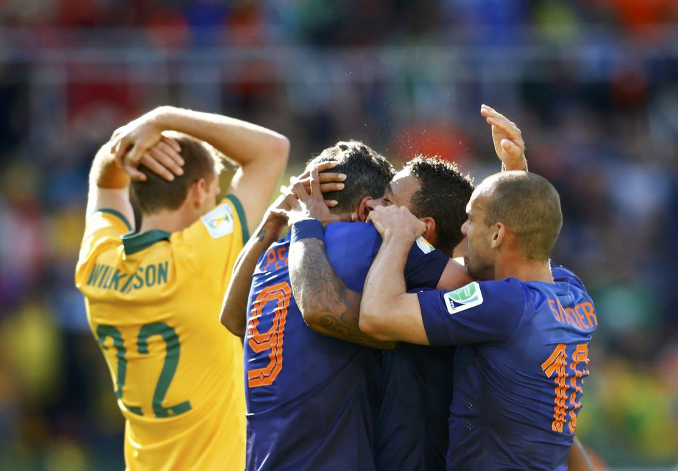 Holanda casi se lleva un susto ante la d?bil Australia