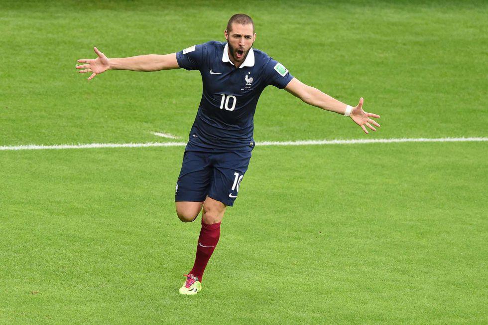 Benzema gu?a la goleada de Francia ante Honduras