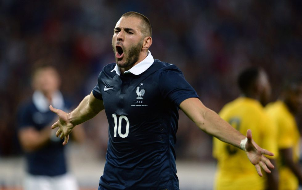 Francia golea sin piedad a Jamaica con un gran Benzema