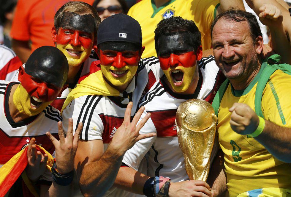 Brasil animar? a Alemania para que Argentina no gane