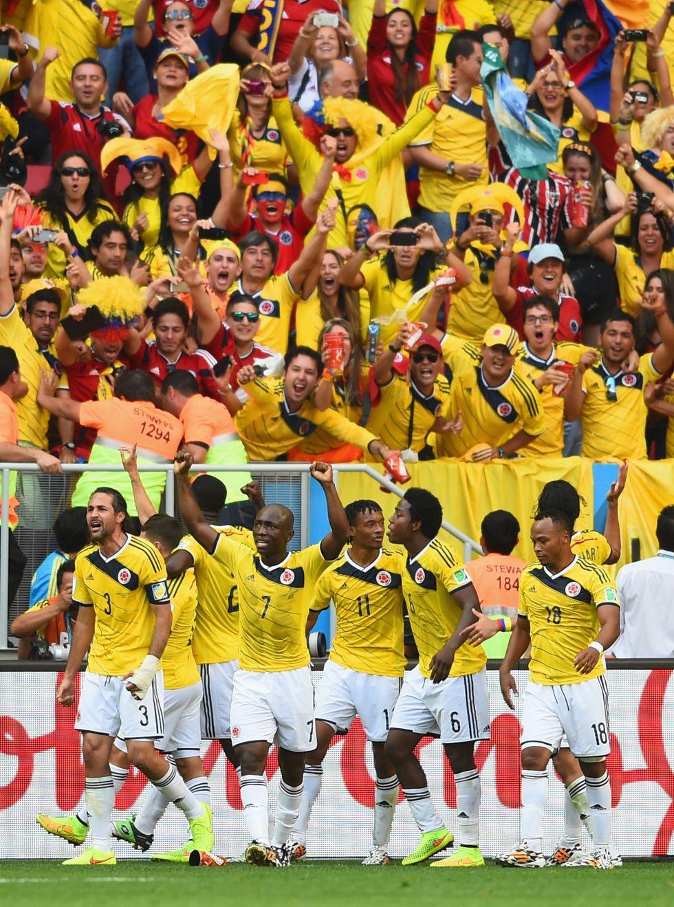 Colombia vence a Costa de Marf?l y ya est? en octavos
