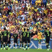Goleada de una España de luto para despedirse del Mundial
