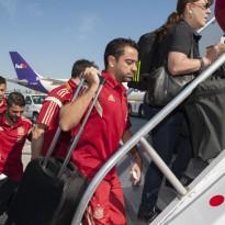 España ya está en Salvador de Bahía para su debut ante Holanda