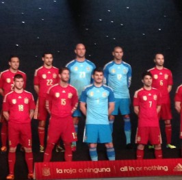 España aterriza en Brasil para el Mundial 2014