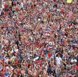La pasión por el fútbol invade Estados Unidos