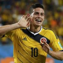 James Rodríguez, en busca de la Bota de Oro del Mundial