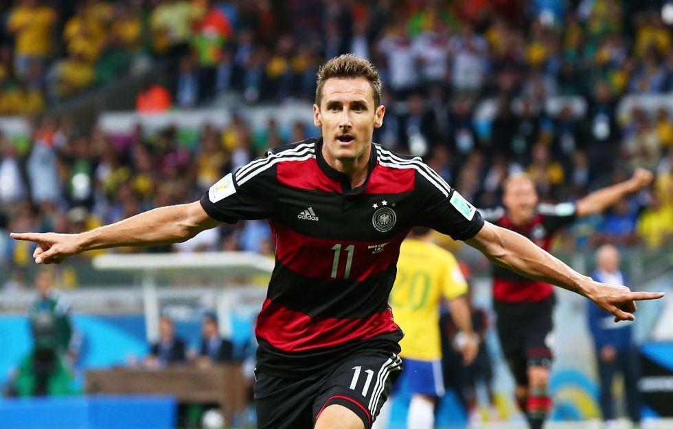 Klose se convierte en el m?ximo goleador de la historia de los Mundiales