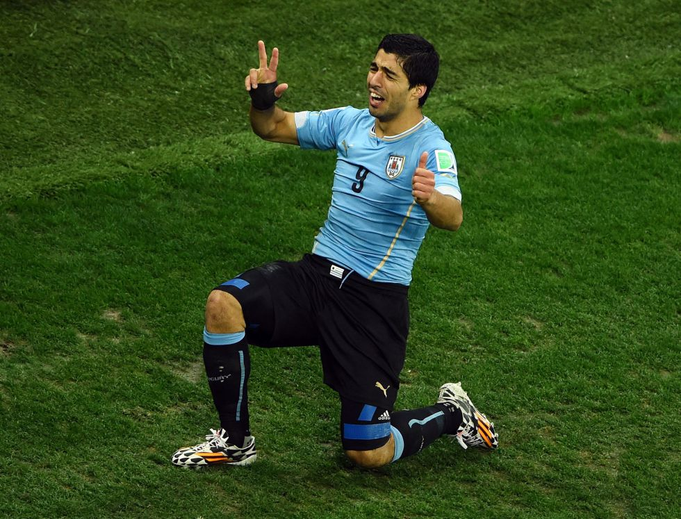 Uruguay y Luis Su?rez rompen las ilusiones inglesas
