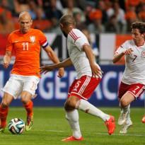 Holanda se impone a Gales con un gran Robben