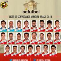 Vicente del Bosque da la lista definitiva de seleccionados